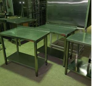Стол производственный 1000х600 из нержавеющей стали БУ