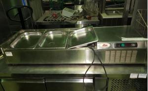 Саладетта охлаждаемая Ilsa (длина 1350 мм) БУ