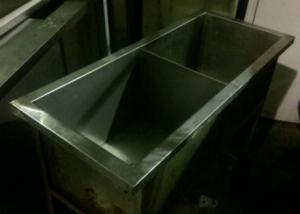 Ванна моечная двухсекционная 900*400 БУ
