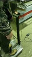Электронные напольные товарные весы Меркурий 330П-150 БУ