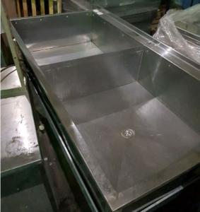 Ванна моечная 2х секционная 1600*800 БУ