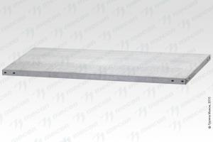 "Полка СПЛб - 600*500 ""Base"", цинк"
