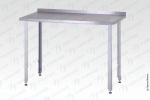 "Стол производственный СПРн - 1000*600*860 ""Norma Inox"", борт - базовый элемент"