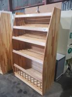 Стеллаж деревянный 1080*550*1800 мм БУ