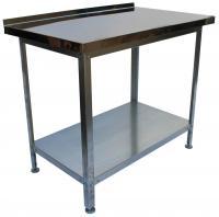 Стол производственный 1000x700x860 с бортом