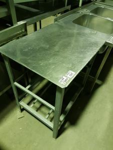 Стол разделочный сталь 725*585 БУ
