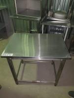 Стол производственный 850*600 нерж  БУ