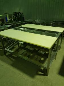 Производственный стол на 4 рабочих места 1700*1720 БУ