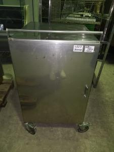 Стол-тумба из нержавеющей стали 680*580*1000 БУ