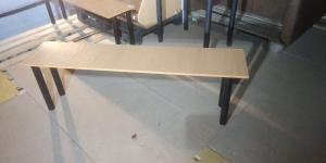 Скамейка гардеробная 1500*330 БУ
