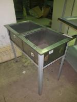 Ванна моечная для двухсекционная 950*500 БУ