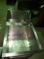 Ванна моечная 2-ух секционная 1260*630 мм (м/о 530*530*400 мм) БУ