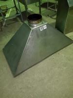 Зонт вытяжной 1500*800*700 БУ