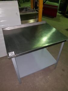 Стол производственный с бортом 900*700 БУ