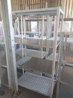 Стеллаж для посуды 1000*600*1800 БУ