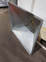 Зонт вытяжной из оцинковки 1255*1050 мм БУ