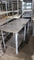 Стол производственный 1500*600 мм БУ