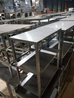 Стол производственный 700*390*890 мм БУ
