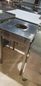 Стол для сбора отходов 600*600 мм БУ