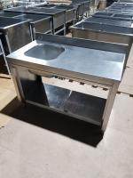 Ванна моечная-стол 1200*600 мм БУ