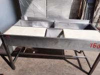 Ванна моечная для мясного цеха 1600*710 мм БУ